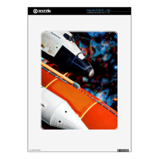 Space Shuttle Decal For The iPad