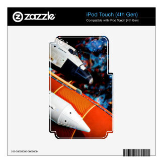 Space Shuttle Decals For iPod Touch 4G