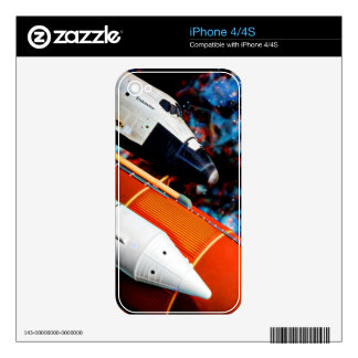 Space Shuttle Decals For The iPhone 4