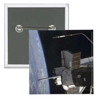 Space Shuttle Discovery 10 2 Inch Square Button