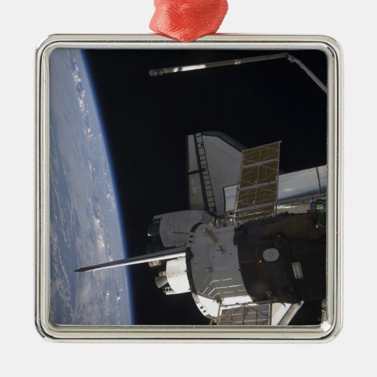 Space Shuttle Discovery 10 Metal Ornament