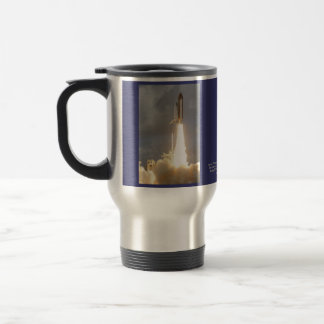 Space Shuttle Discovery 15 Oz Stainless Steel Travel Mug
