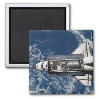 Space Shuttle Discovery 16 2 Inch Square Magnet