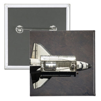 Space Shuttle Discovery 2 2 Inch Square Button