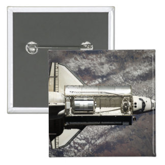 Space Shuttle Discovery 3 2 Inch Square Button