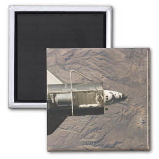 Space Shuttle Discovery 4 2 Inch Square Magnet