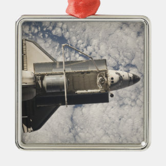 Space Shuttle Discovery 7 Metal Ornament
