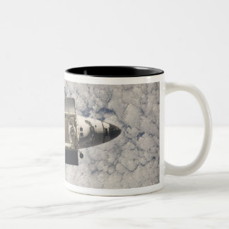 Space Shuttle Discovery 7 Two-Tone Coffee Mug
