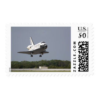 Space Shuttle Discovery approaches landing 2 Postage