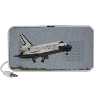 Space Shuttle Discovery approaches landing 3 iPod Speakers