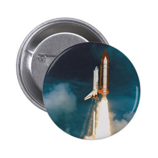 Space Shuttle Discovery Blast Off Button