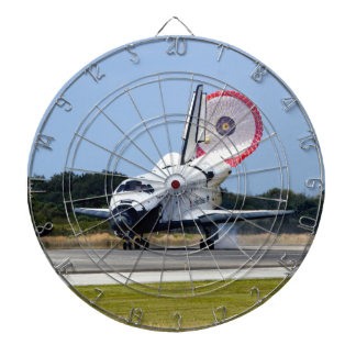 Space Shuttle Discovery Coming Home Dart Board