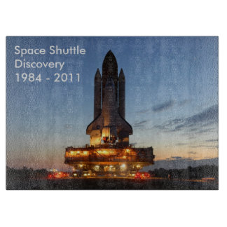 Space shuttle Discovery Cutting Board