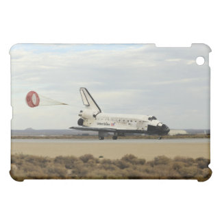 Space Shuttle Discovery deploys its drag chute iPad Mini Cover