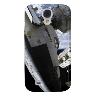 Space Shuttle Discovery docked Samsung Galaxy S4 Case