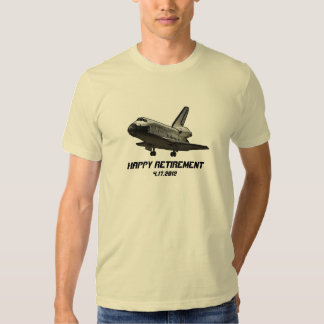 Space Shuttle Discovery Happy Retirement T-shirt