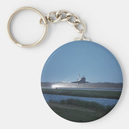 Space Shuttle Discovery landing - STS-116 Keychain