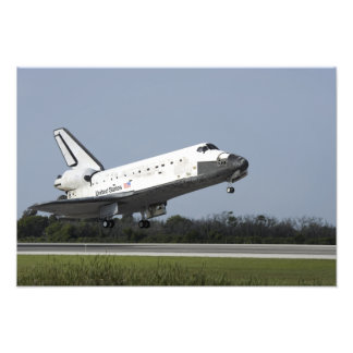 Space shuttle Discovery lands on Runway 33 2 Art Photo