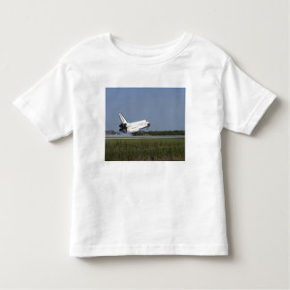Space shuttle Discovery lands on Runway 33 4 Toddler T-shirt