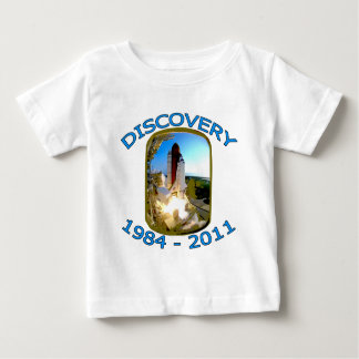 Space Shuttle Discovery Launch Baby T-Shirt