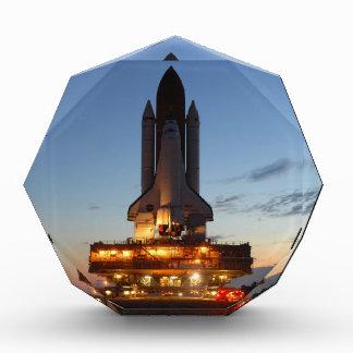 Space Shuttle Discovery Launch NASA Acrylic Award