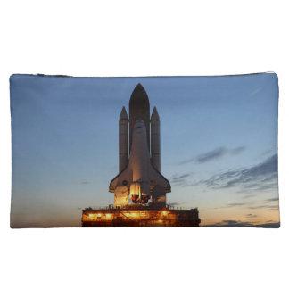 Space Shuttle Discovery Launch NASA Makeup Bag