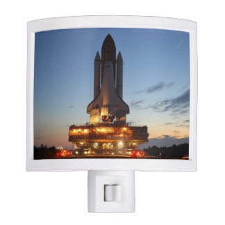 Space Shuttle Discovery Launch NASA Night Light