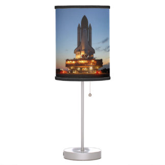 Space Shuttle Discovery Launch NASA Table Lamp