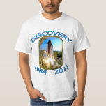 Space Shuttle Discovery Launch Tshirt