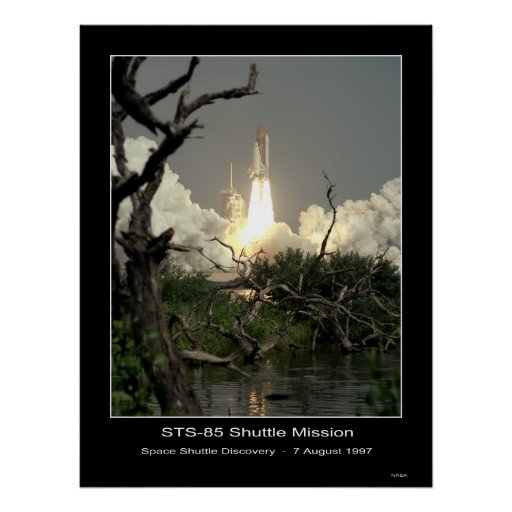 Space Shuttle Discovery Lift-off N... Print