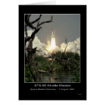 Space Shuttle Discovery Lift-off NASA STS-85 Shutt Greeting Card