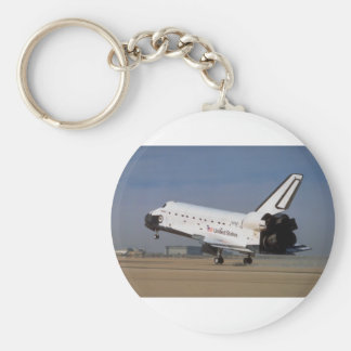 Space shuttle Discovery, Mojave Desert, California Key Chains