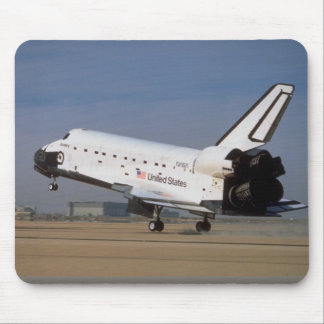 Space shuttle Discovery, Mojave Desert, California Mouse Pad