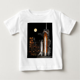 Space Shuttle Discovery on Launch Pad Baby T-Shirt