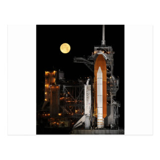 Space Shuttle Discovery on Launch Pad Postcard