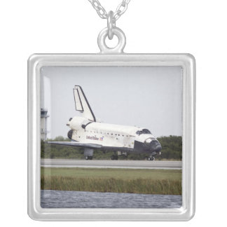 Space Shuttle Discovery on the runway Necklace