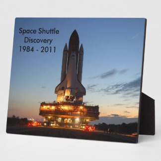 Space shuttle Discovery Photo Plaques