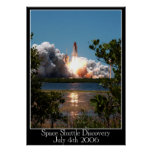 Space Shuttle Discovery Poster Posters