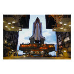 Space Shuttle Discovery Preps Poster
