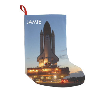 Space shuttle Discovery Small Christmas Stocking