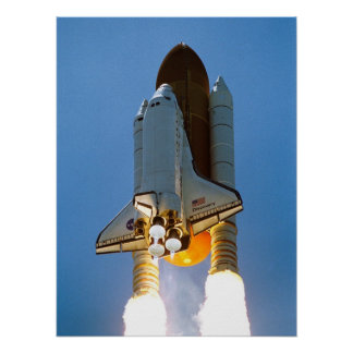 Space Shuttle Discovery STS-121 Poster