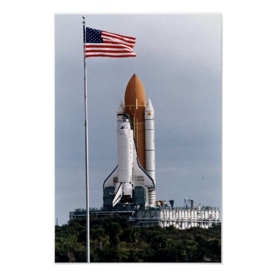 Space Shuttle Discovery (STS-82) Poster