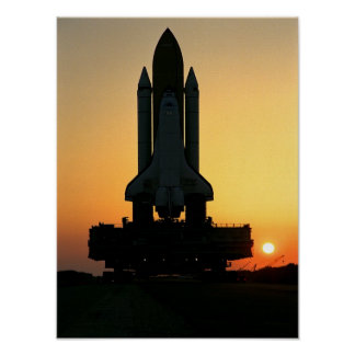 Space Shuttle Discovery (STS-91) Poster