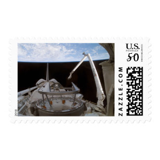 Space Shuttle Discovery's payload bay 2 Postage