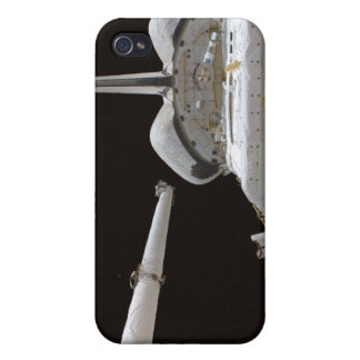 Space Shuttle Discovery's payload bay iPhone 4 Cover
