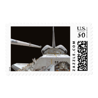 Space Shuttle Discovery's payload bay Postage
