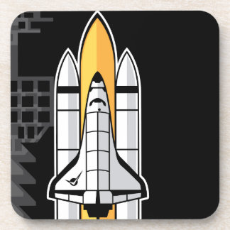 Space shuttle drink coaster