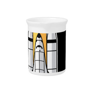 Space shuttle drink pitcher