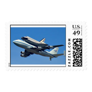 Space Shuttle Endeavor Ferry Flight Postage