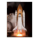Space Shuttle Endeavor Lifts Off Greeting Card